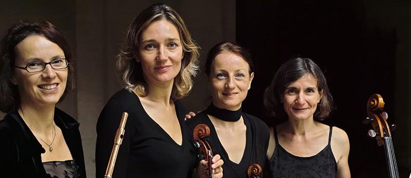 Dimanche 28 fevrier 2016-Les Sables D'Olonne-concert-lecture autour des quatuors avec flûte de MOZART