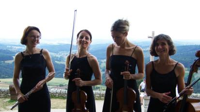 Photos des Quatuors Flûte & Cordes