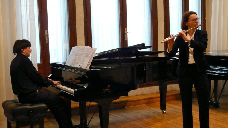 Samedi 31 Août 2019 – Château de Bosmelet – Concert de musique Française – flûte, soprano et piano