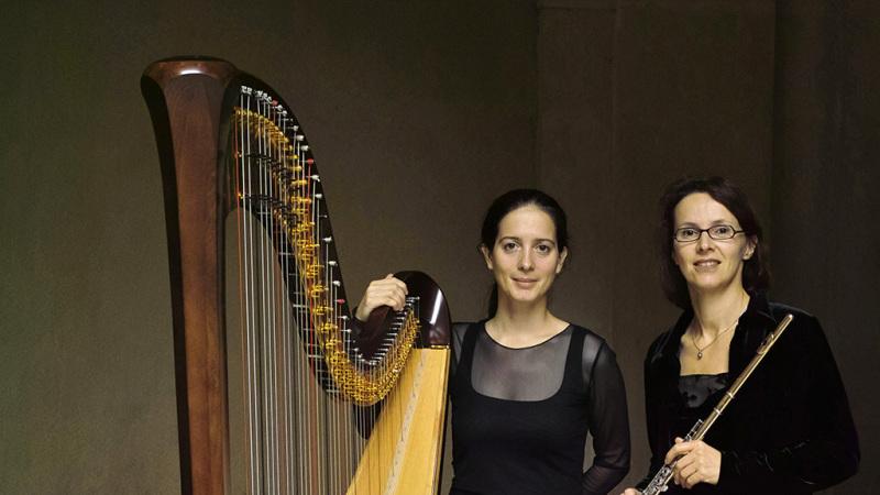 Dimanche 23 juin 2019 – Chateau de la Bâtie d'Urfé – Concert Duo Hermès – flûte et harpe