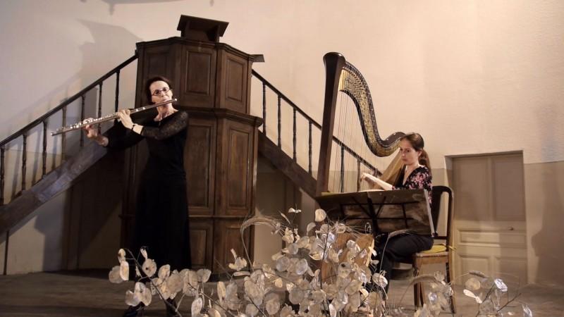 Dimanche 10 avril 2016 – Nieul-sur-l'Autise – Duo flûte et harpe –