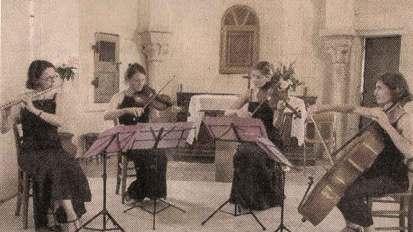 Presse – Quatuor pour Flûte et Cordes –