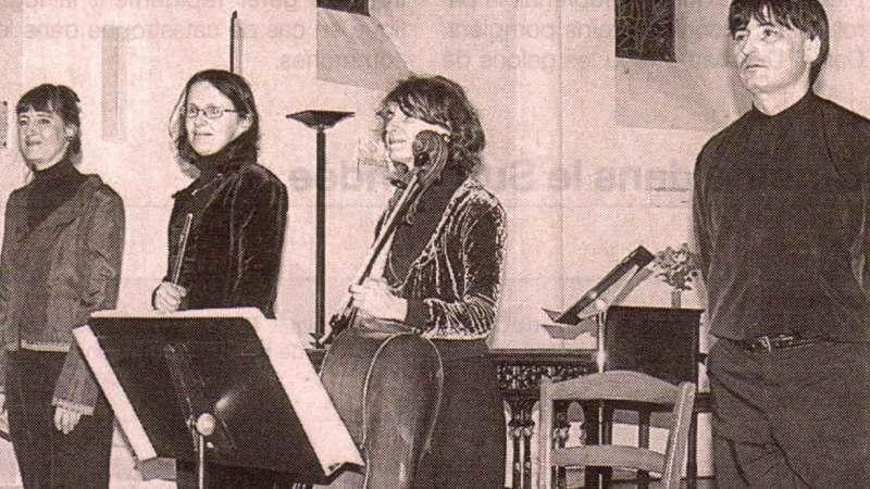 Presse – Quatuor Flûte, Soprano, Violoncelle & Orgue –