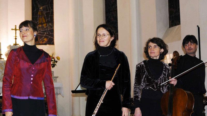 Quatuor Soprano, Flûte, Violoncelle, Piano