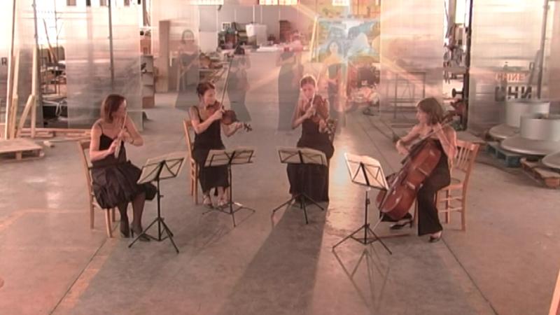 Mozart -quatuor pour flûte et cordes- KV.285